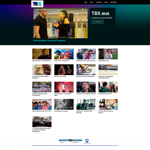 TBX.eus webgunea