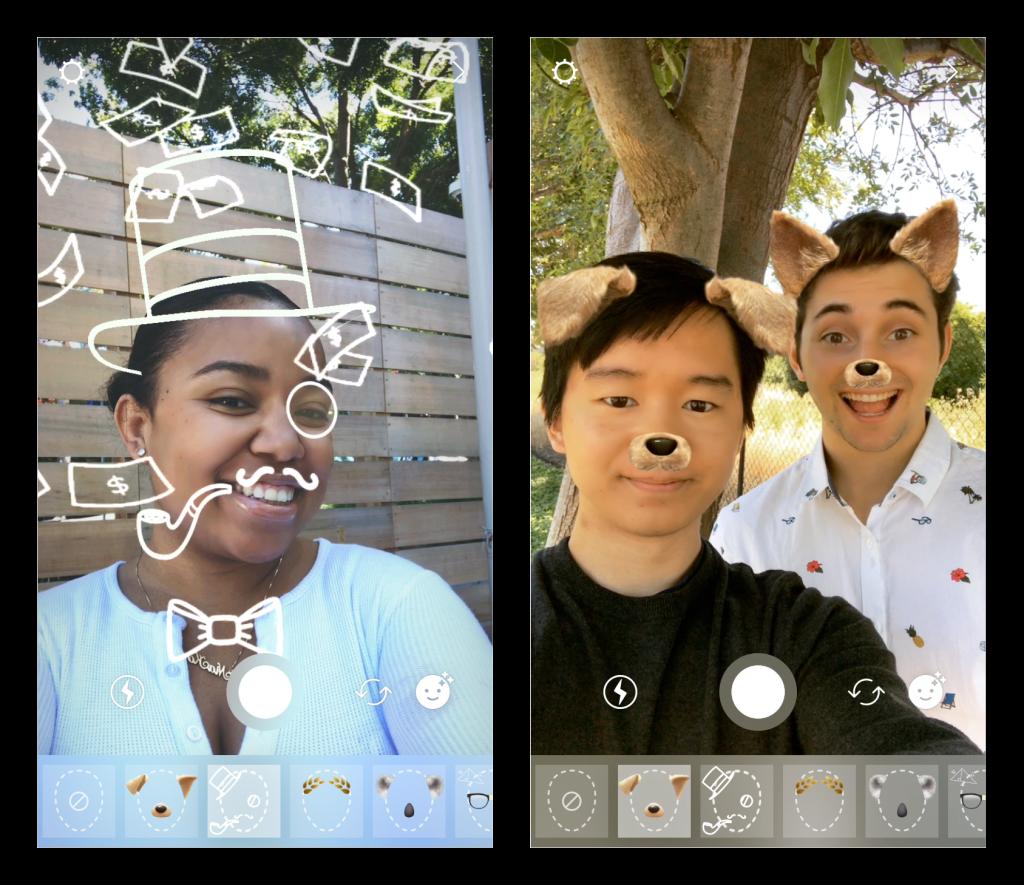 Instagrameko filtroak - Filtro geolokalizatzaileak erabiltzen hasi da LinkedIn