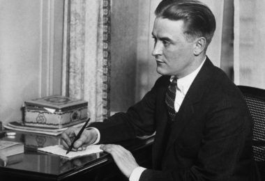 Original Caption: Portrait of Francis Scott Fitzgerald (1890-1940), American fiction writer.  Photo.
