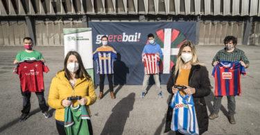 2021-02-18, Bilbo. Euskal Liga Fifa21 bideojokoaren  aurkezpena.  18-02-2021, Bilbao. Presentación del videojuego de fútbol Euskal Liga Fifa21.