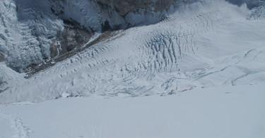7 .abajo el c2 y todo el glaciar