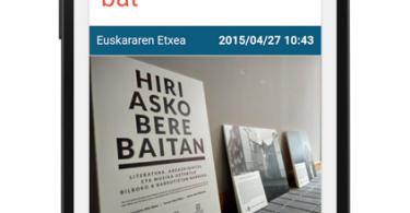 Azkue Fundazioaren Egunkaria blogaren aplikazioa - irudia 3