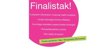 EuskararenGinkana-finalistak