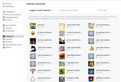 Facebook-aplikazioak-ezabatu
