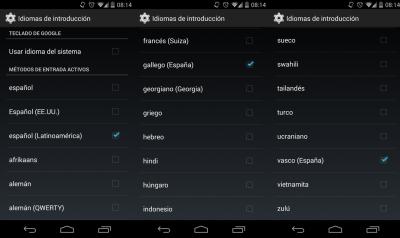 Google-teklatua-euskaraz
