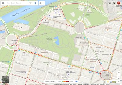 GoogleMaps-trafikoa
