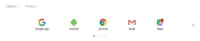 GoogleTips-Produktuak