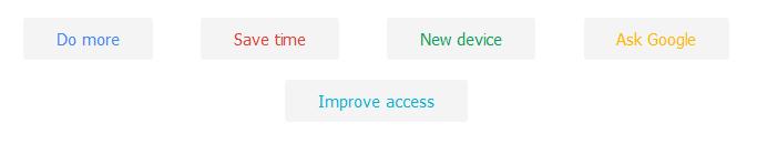 GoogleTips-kategoriak