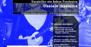 Ukelele ikastaroa-Darabilbo-Azkue Fundazioa
