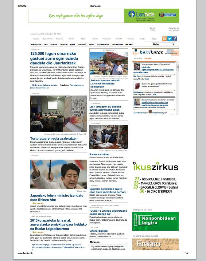 Berria.info pdf-an gordetzeko