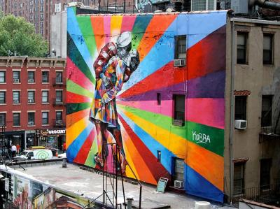 New York, AEB. Eduardo Kobra: https://www.facebook.com/pages/Eduardo-Kobra/260920897253082?group_id=0