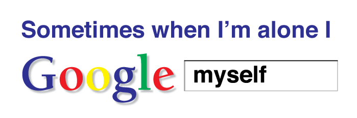 egosurfing-Google