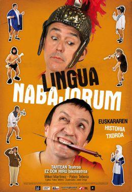 Lingua nabajorum sarrerak zozketan